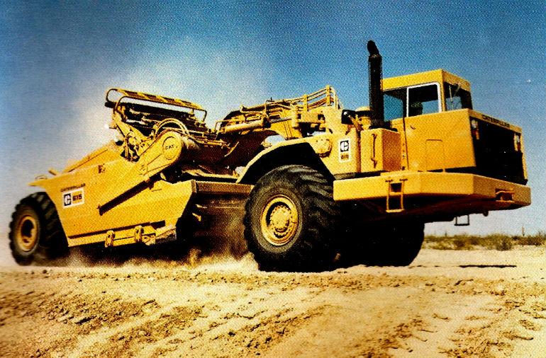 Classic machines: The Caterpillar 615 scraper - Contractor
